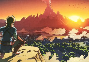 LOZ: Breath of the Wild Artwork Is A Throwback To The Old Game