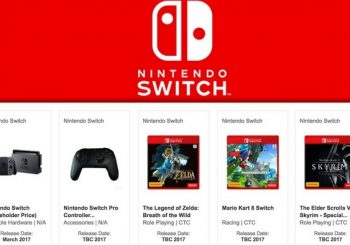 Rumor: EB Games May Have Leaked Info About Mario Kart 8 On Nintendo Switch