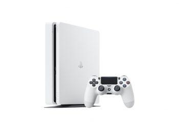 New Glacier White PS4 Slim Console Announced