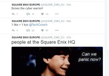 Square Enix Europe And Just Cause Twitter Pages Have Been Hacked