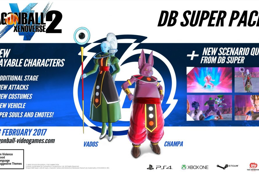 Dragon Ball Xenoverse 2 DLC Pack 2 Gameplay Trailer