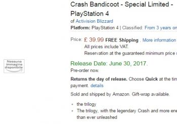 Rumor: Crash Bandicoot N. Sane Trilogy Could Be Getting A Special Edition