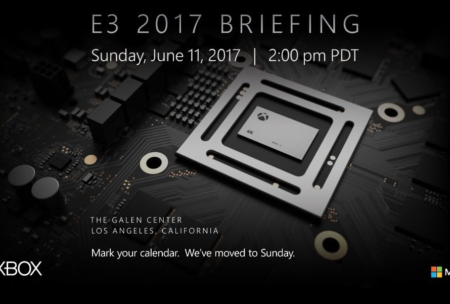 Microsoft Changes Its Xbox One E3 2017 Press Conference Date