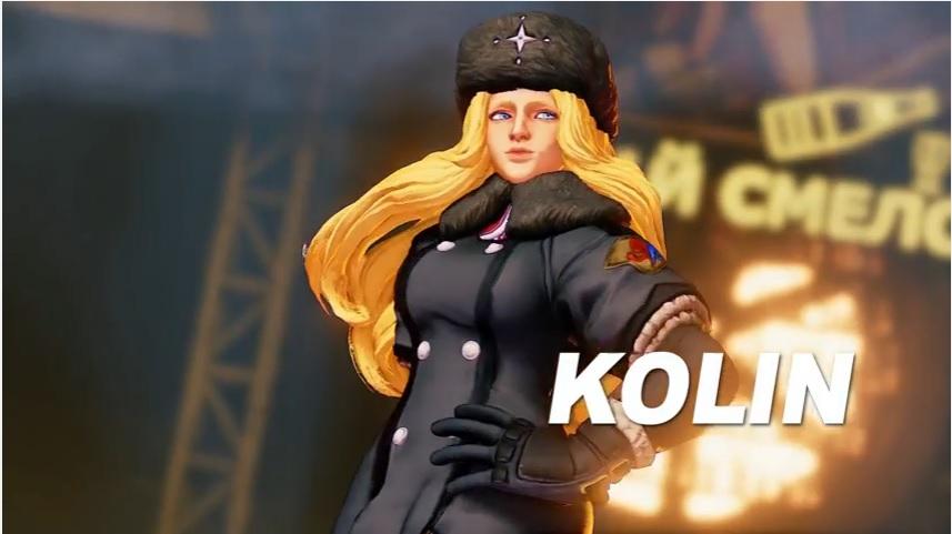 New Street Fighter V Character Named Kolin; Release Date Also Announced