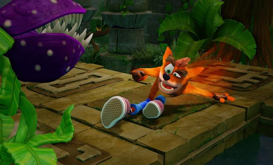 "New Gameplay Video Of Crash Bandicoot N. Sane Trilogy Shows ""Hang Eight"" Level"