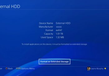 PS4 System Update 4.50 With External Hard Drive Support Out Tomorrow