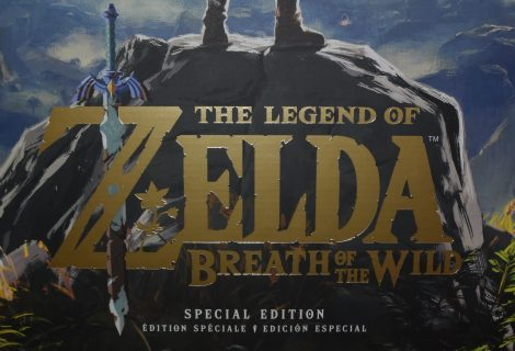 The Legend of Zelda: Breath of the Wild Special Edition Unboxing
