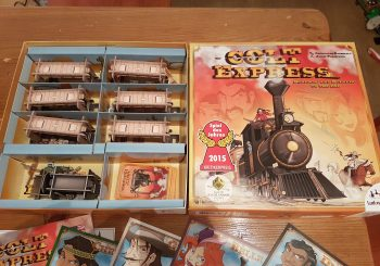 Colt Express Review - A Gem Of A Train Robbery Board Game