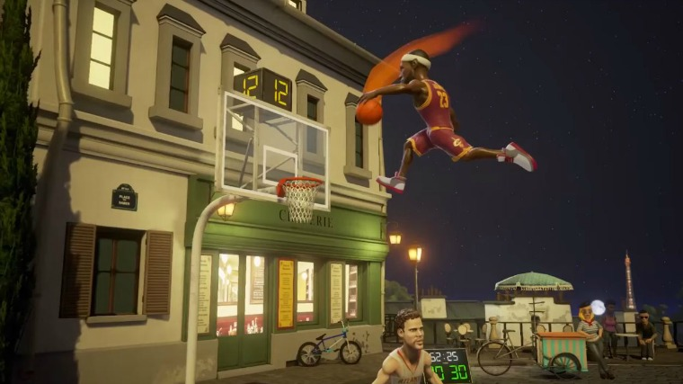 New Game Called NBA Playgrounds Is A Homage To NBA Jam