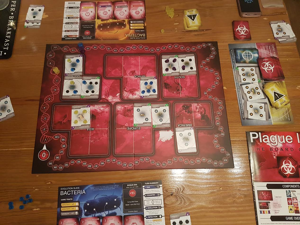Ndemic Creations Plague Inc The Board Game