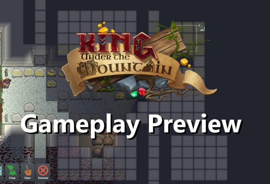 King Under The Mountain Kickstarter/EGX Rezzed 2017 Gameplay Preview