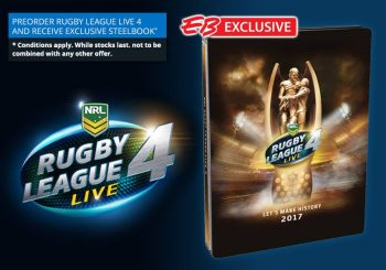 EB Games Announces Pre-order Steelbook For Rugby League Live 4