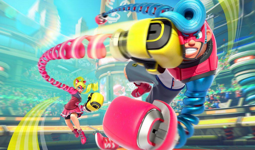 Super Smash Bros. Ultimate ARMS