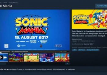 Sonic Mania Release Date May Have Been Leaked On Steam