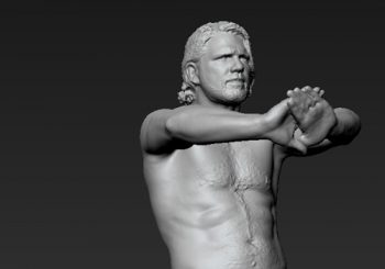 First Scans Of AJ Styles' Character Model In WWE 2K18 Revealed
