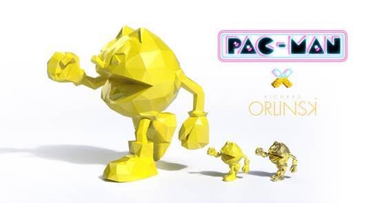 Pac-Man Figures Now Live On Kickstarter