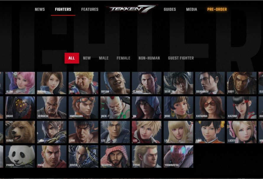 Tekken 7 Website Updated With Character Bios And Guide Videos