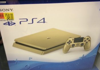 A Gold 1TB PS4 Console Has Been Spotted At Target