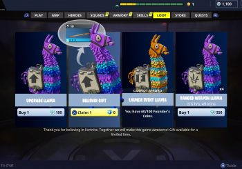 Fortnite is Giving Early Adopters a Special Bonus Today