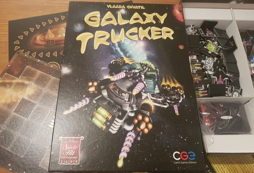 A Board Gaming Essential: Galaxy Trucker (Review)