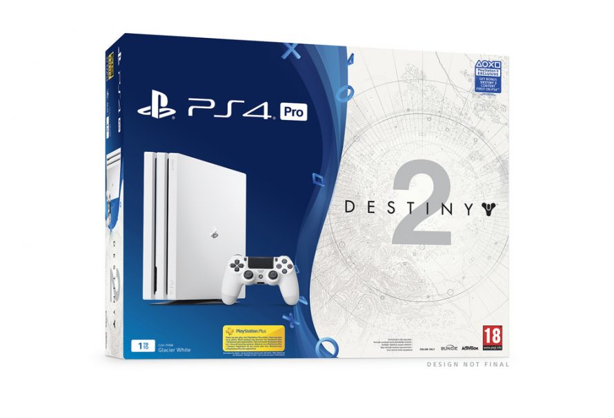 Glacier White PS4 Pro Destiny 2 Bundle Coming Out Later This Year