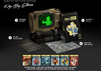Fallout 4 Game of the Year Edition Revealed; Pipboy Returning