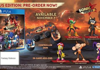 Sonic Forces Release Date And Bonus Pre-order Edition Speeds Out
