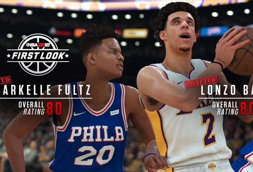 Lonzo Ball's NBA 2K18 Player Rating Revealed