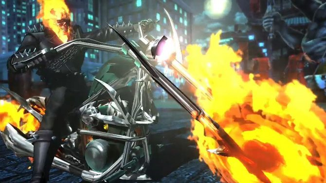 Ghost Rider Drives His Way To The Marvel vs. Capcom: Infinite Roster
