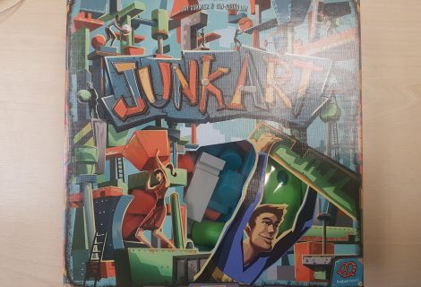 Junk Art Review - A Balancing Masterpiece