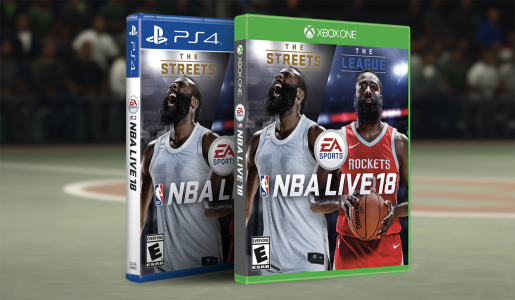 cc6fc9bc7b0 EA Sports has revealed the release date and cover athlete for NBA Live 18.  It will feature none other than James Harden on the cover.
