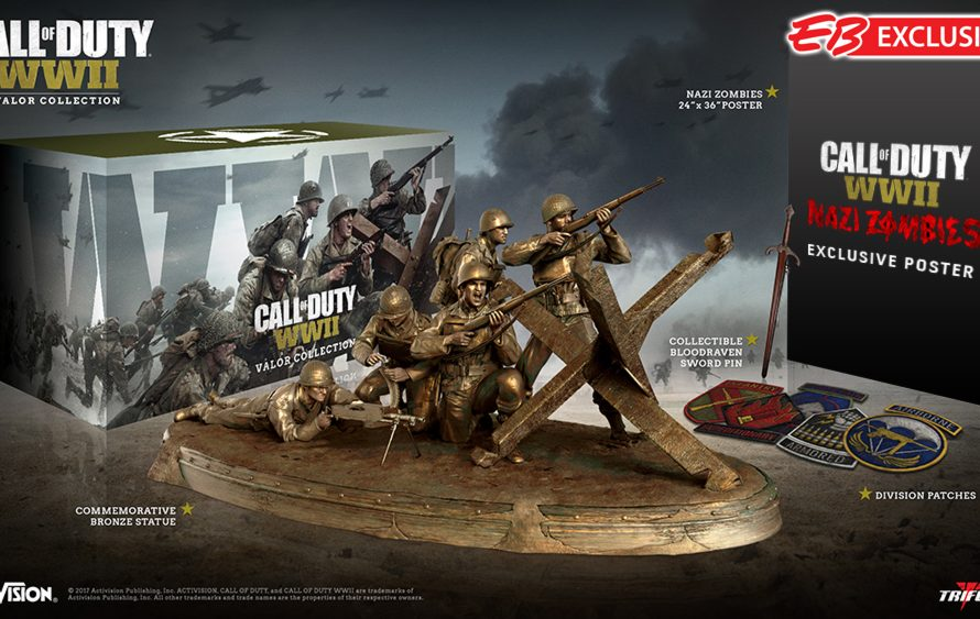 Call of Duty: WWII Valor Collection Edition Looks Cool