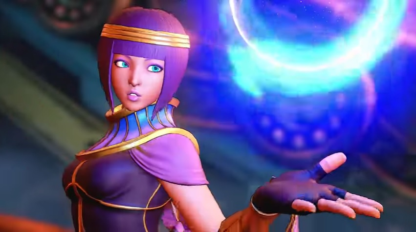 New Street Fighter 5 Character Named Menat Announced - Just