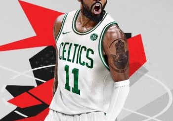 New NBA 2K18 Cover Features Kyrie Irving In Celtics Gear