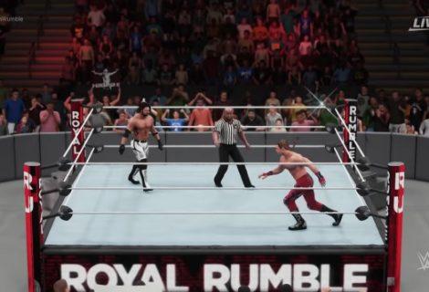 Watch WWE 2K18 Gameplay Footage Of Shawn Michaels vs. AJ Styles