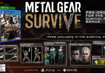 Metal Gear Survive Release Date Announced For North America And Europe