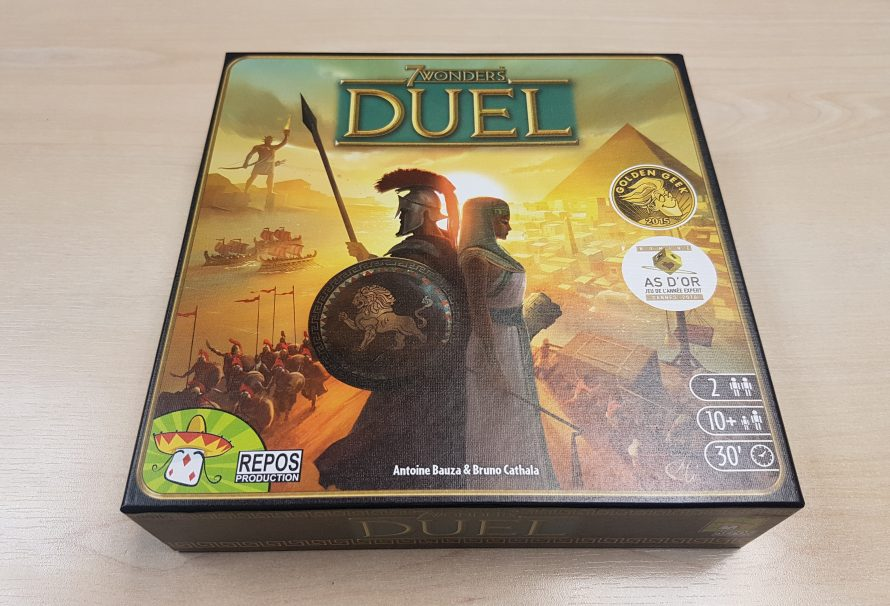 7 Wonders Duel Review – 2-Player City Building Brilliance