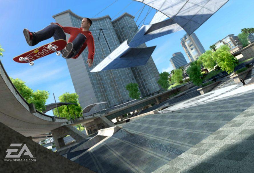 Skate 3 Xbox One X Enhancements Look Impressive - Just Push