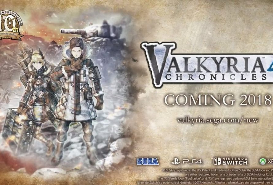 Valkyria Chronicles 4 Releasing For PS4, Xbox One And Nintendo Switch Next Year