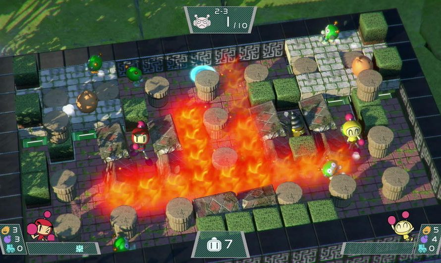 Super Bomberman R: Free DLC Adds Characters and eSports Mode