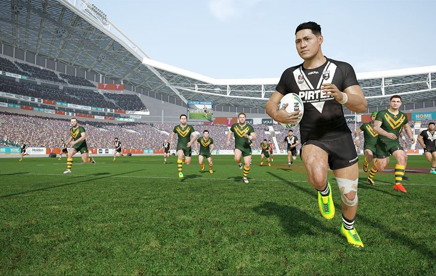 Rugby League Live 4 – World Cup Edition Gets A Release Date