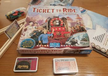 Ticket to Ride Asia Review - To Team Or Not To Team?