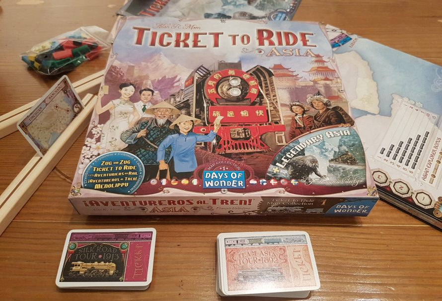 Ticket to Ride Asia Review – To Team Or Not To Team?