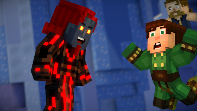 Minecraft Story Mode Season Two Episode 5 Above And Beyond Review Just Push Start