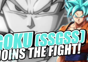Dragon Ball FighterZ Shows Off Super Saiyan Blue Goku Trailer