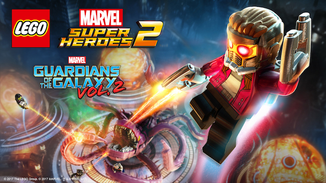 Guardians of the Galaxy Vol. 2 DLC Now Available In LEGO Marvel Super Heroes 2
