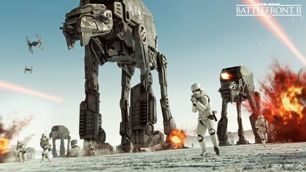 EA Showcases Epic Star Wars Battlefront 2 The Last Jedi Season Trailer