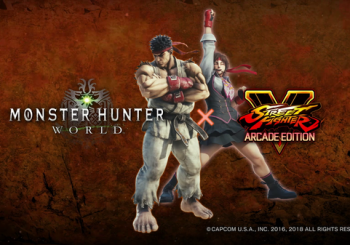 Street Fighter's Ryu And Sakura Will Be Joining Monster Hunter: World