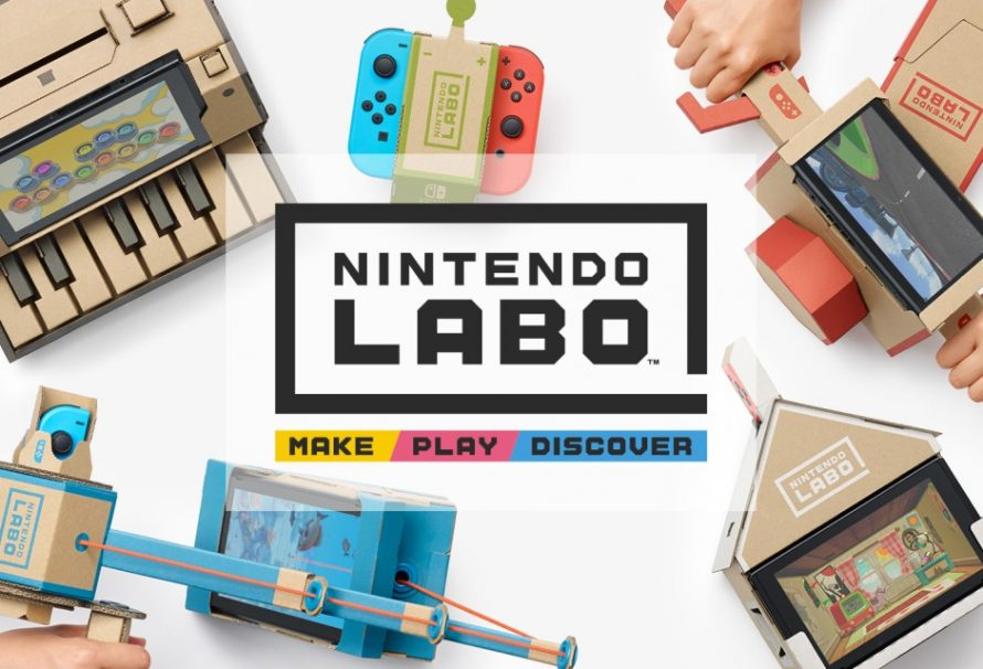 Nintendo Labo Announced For Use With Nintendo Switch Console
