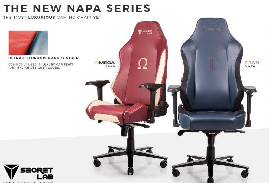 Secretlab Unveils New Napa Leather Series